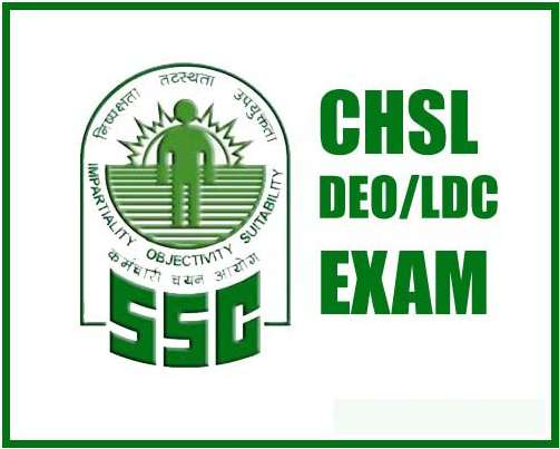 SSC CHSL Vacancy 2017 (Combined Higher Secondary Level 10+2)