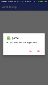 dialog box in android