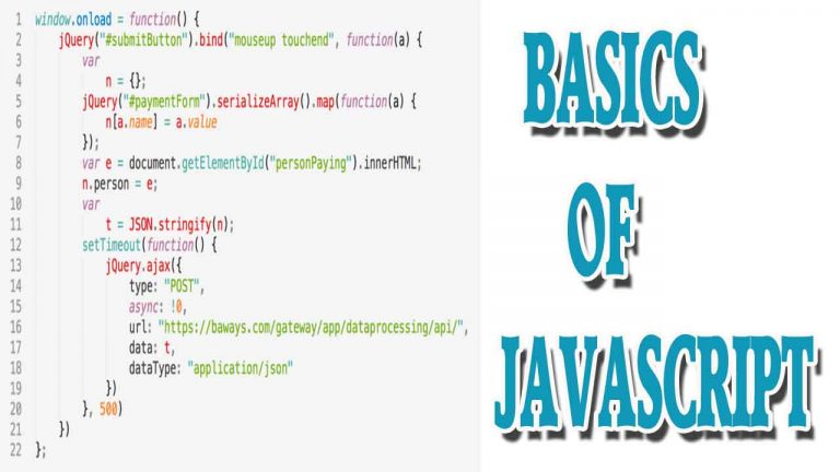 Basics of JavaScript | Use of JavaScript with HTML File