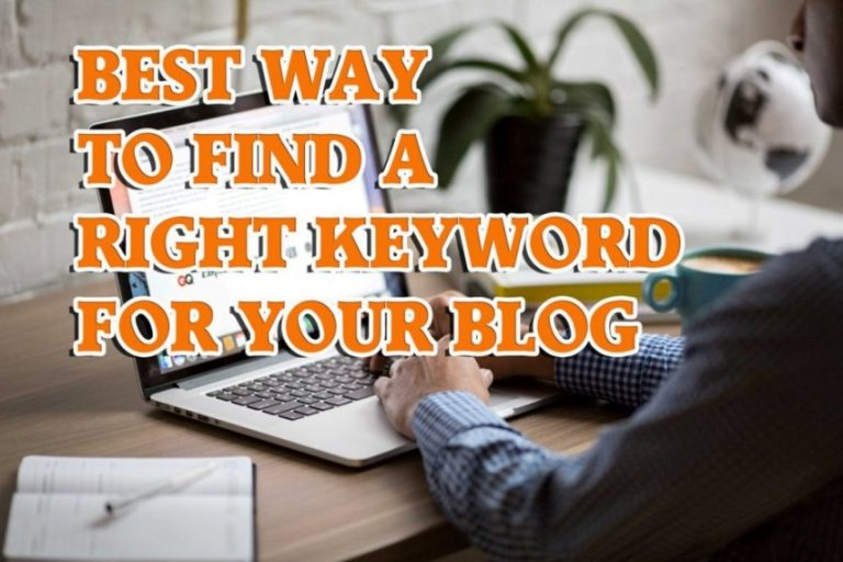 Best Way to Do Keyword Research for Your Blog in 2019