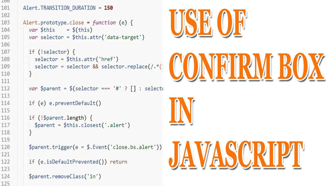 Picture of Confirm Box in JavaScript