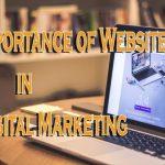 Importance of website in digital marketing