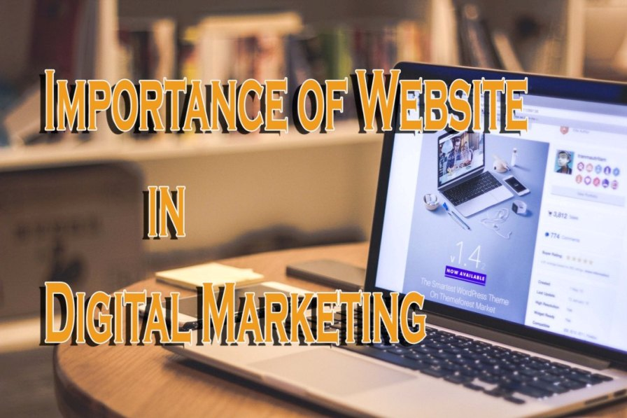 Importance of website in digital marketing