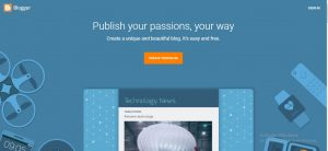 Picture of Blogger.com