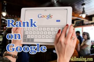Rank on Google