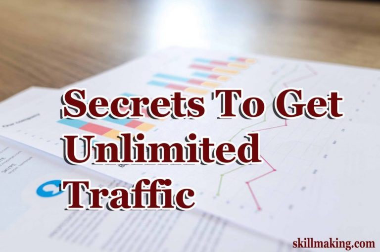 Secret Method to get Unlimited Traffic on Your Blog