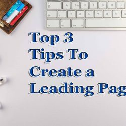 Tips to create leading page