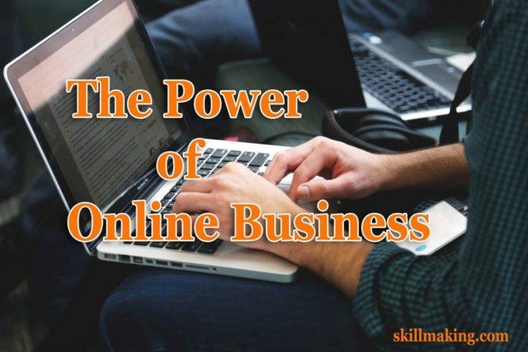The Power of Online Business | Job VS Self-Employed VS Online Business