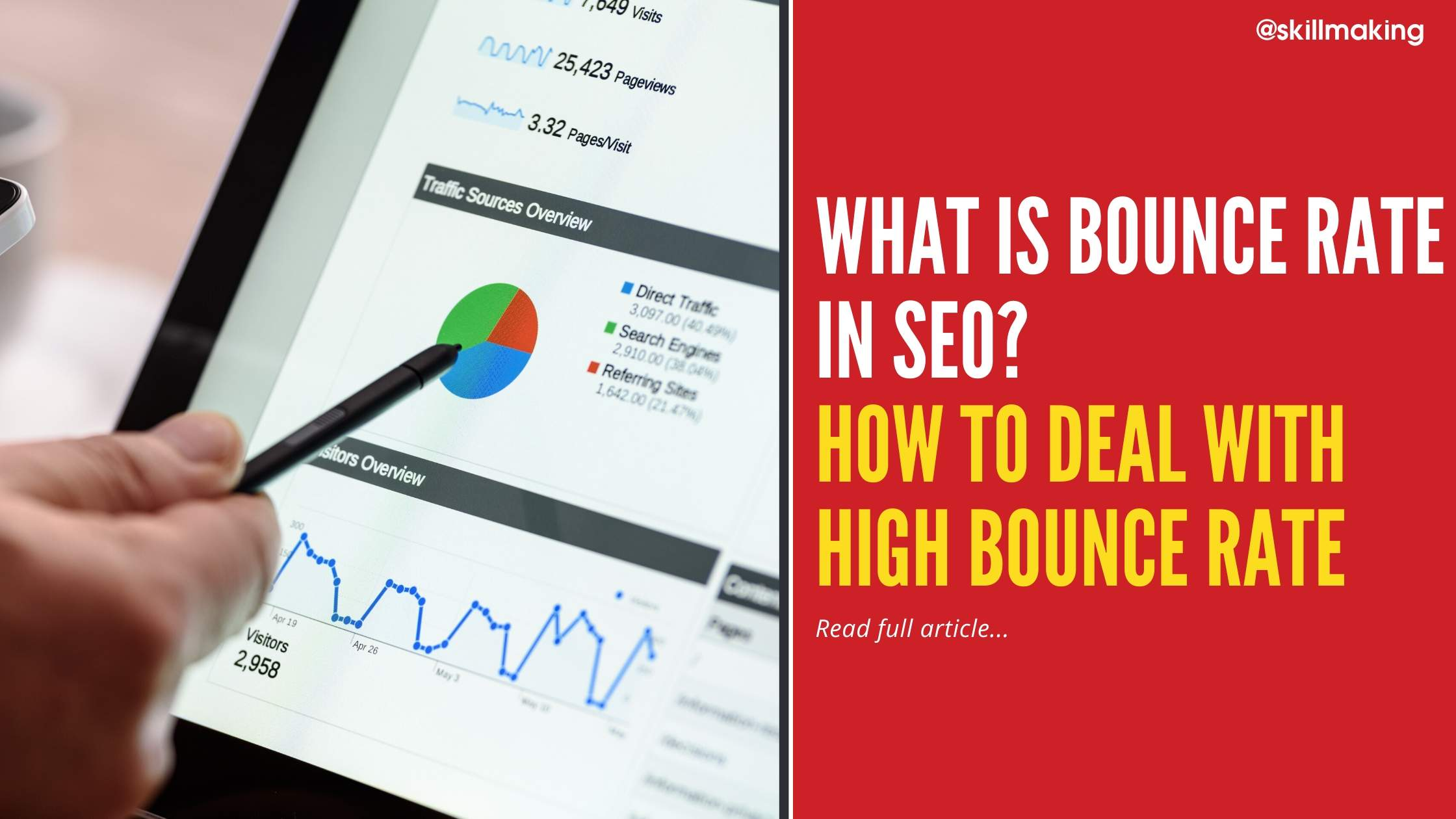 What is Bounce Rate in SEO? How to Deal With High Bounce Rate in SEO