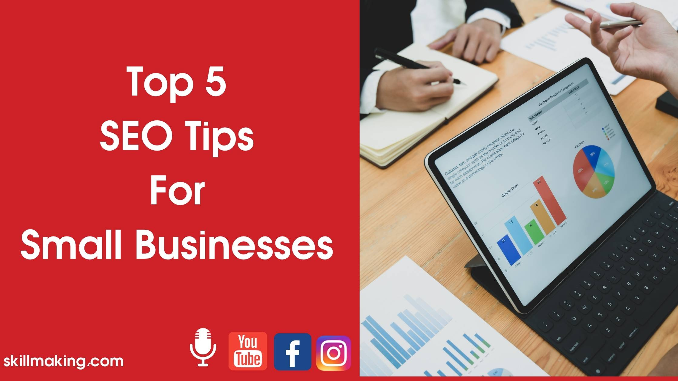 Top 5 SEO Tips For Small Businesses in 2020